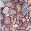ausgebaggerte Meeressteine